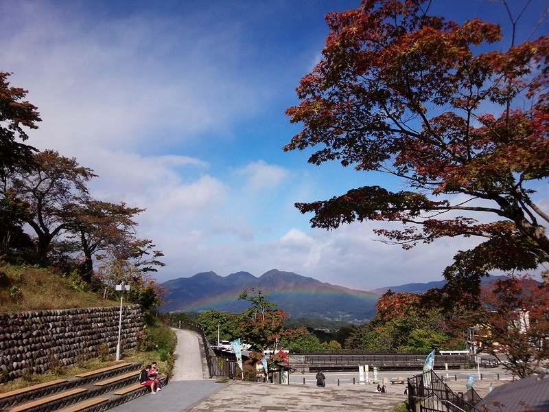 10月23日 湯元『河鹿橋』周辺の様子