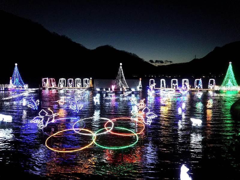 榛名湖イルミネーションフェスタ 2019 ☆