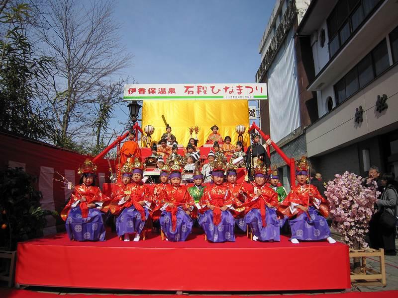 「石段ひなまつり」 平成30年「出演園児」募集中!